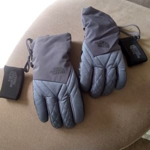 The North face ski gloves